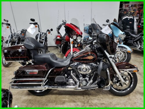 2011 Harley-Davidson Touring FLHTC Electra Glide Classic - Two-Tone Options Merlot Sunglo / Vivid Black for sale craigslist