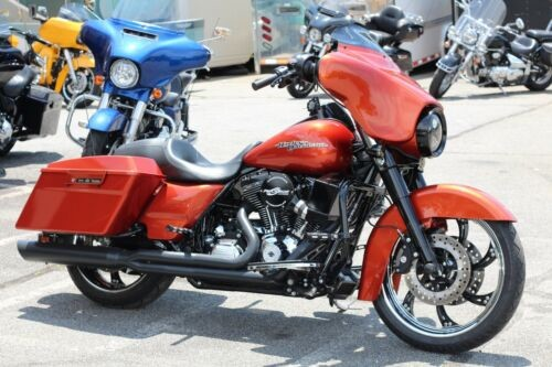 2011 Harley-Davidson Touring Street Glide™ Orange for sale craigslist