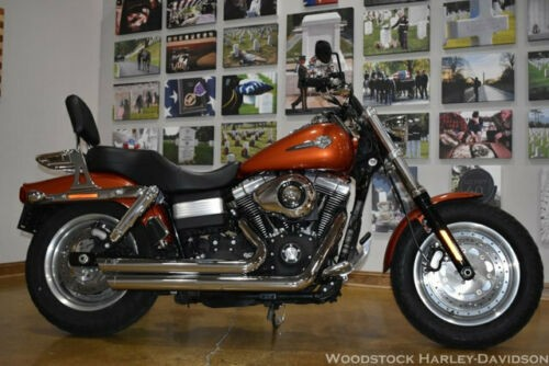 2011 Harley-Davidson Touring FAT BOB FXDF Orange for sale craigslist