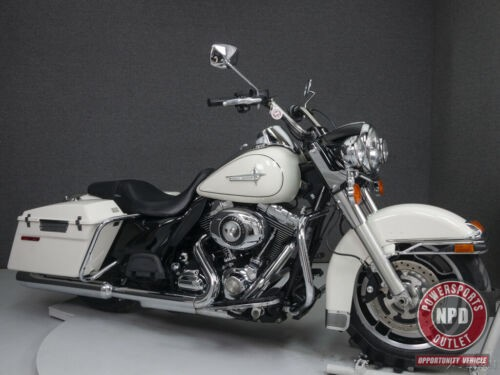 2011 Harley-Davidson Touring FLHP ROAD KING POLICE White for sale