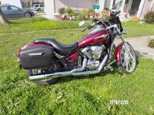 2011 Kawasaki Vulcan 900 Custom Burgundy for sale