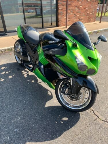 2011 Kawasaki Zx14 Kawasaki green and Black for sale craigslist