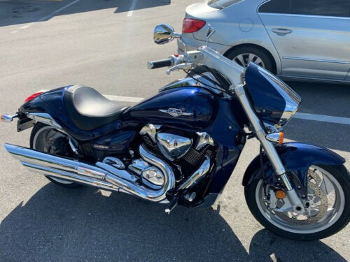 2011 Suzuki Boulevard CANDY INDY METAL FLAKE BLUE STOCK craigslist