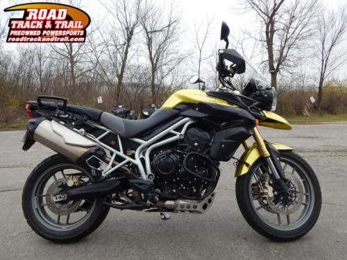 2011 Triumph Tiger 800 ABS -- Green for sale craigslist