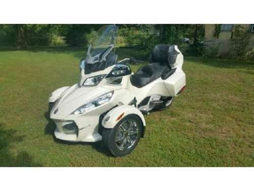 2012 Can-Am Spyder Limited RD Pearl White for sale craigslist
