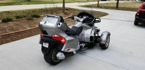 2012 Can-Am Spyder RTS Silver Metallic for sale