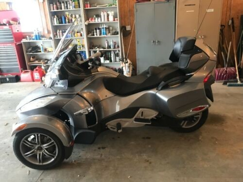 2012 Can-Am Spyder Gray for sale
