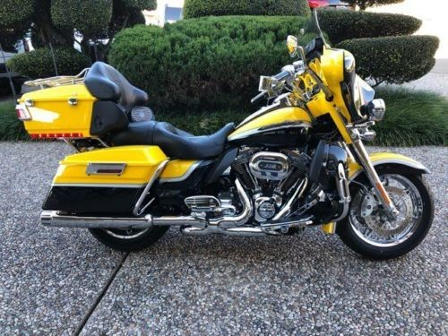 2012 Harley-Davidson CVO Ultra Classic -- Yellow for sale craigslist