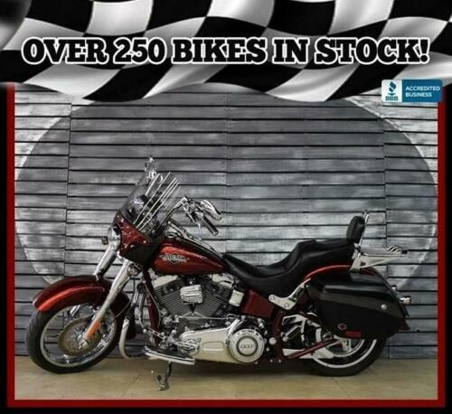 2012 Harley-Davidson CVO Softail Convertible Red for sale craigslist