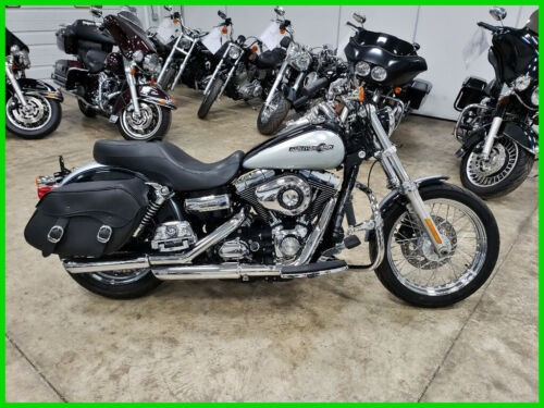2012 Harley-Davidson Dyna FXDC Super Glide Custom Midnight Pearl / Brilliant Silver Pearl for sale craigslist