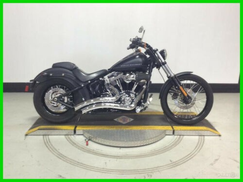 2012 Harley-Davidson Softail FXS  Blackline® Black Denim for sale
