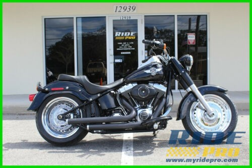 2012 Harley-Davidson Softail Fat Boy® Lo Black for sale craigslist