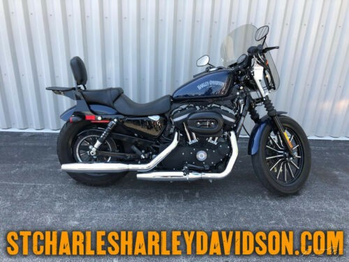 2012 Harley-Davidson Sportster XL883N - Iron 883 Big Blue Pearl for sale craigslist