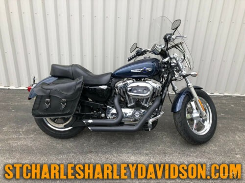 2012 Harley-Davidson Sportster XL1200C - 1200 Custom Big Blue Pearl for sale craigslist