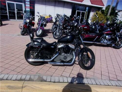 2012 Harley-Davidson Sportster XL1200 NIGHTSTER Black for sale