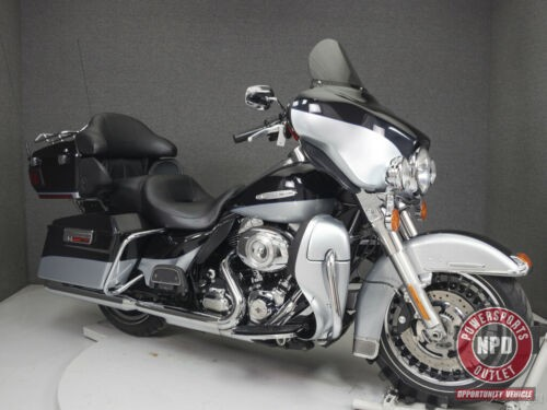 2012 Harley-Davidson Touring FLHTK ELECTRA GLIDE ULTRA LIMITED MIDNIGHT PEARL/BRILLIANT SILVER PEARL for sale