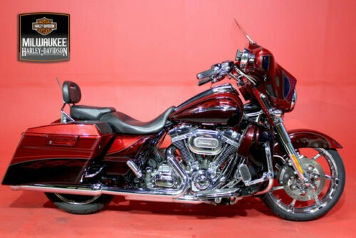 2012 Harley-Davidson Touring CVO STREET GLIDE Red for sale craigslist