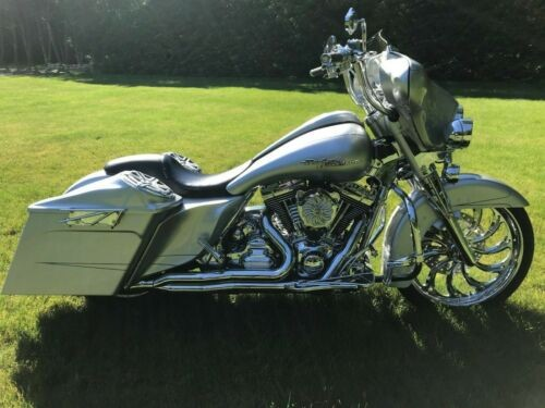 2012 Harley-Davidson Touring Silver for sale craigslist