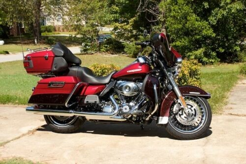 2012 Harley-Davidson Touring Two-tone Merlot for sale craigslist