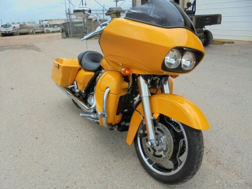 2012 Harley-Davidson Touring Road Glide Custom Chrome Yellow Yellow for sale craigslist