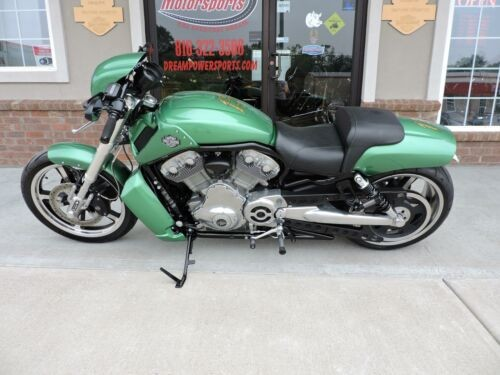2012 Harley-Davidson V-ROD Muscle -- Green for sale craigslist