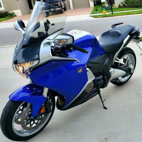 2012 Honda VFR1200F DCT Blue for sale