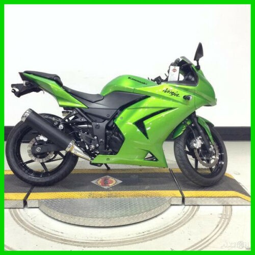 2012 Kawasaki Ninja 250R Candy Lime Green for sale craigslist