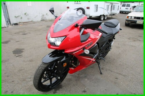 2012 Kawasaki Ninja EX250-J Red for sale craigslist