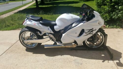 2012 Suzuki Hayabusa White for sale