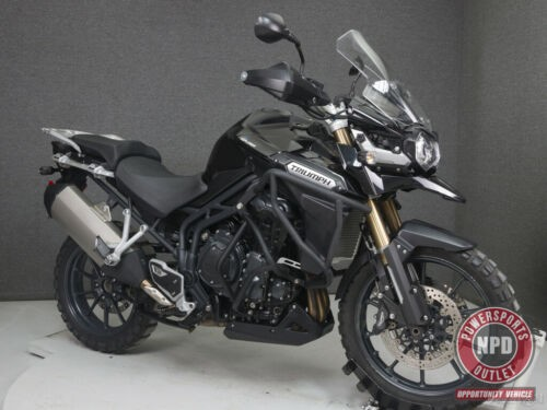2012 Triumph Tiger EXPLORER 1200 WABS PHANTOM BLACK craigslist