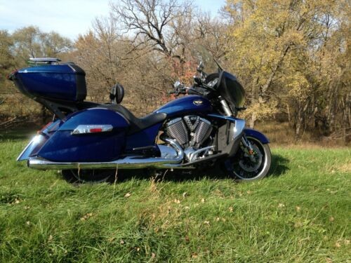 2012 Victory Cross Country Plus Blue for sale craigslist