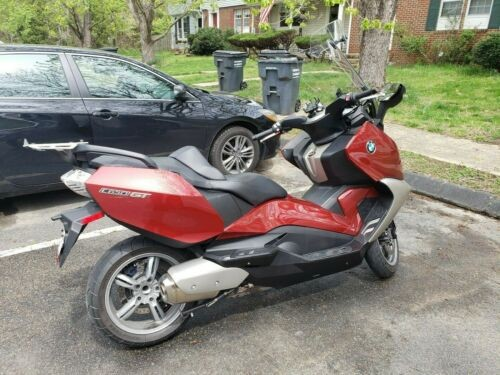 2013 BMW C650 GT Red for sale