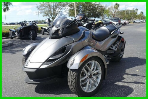 2013 Can-Am Spyder SE5 RS Silver for sale craigslist