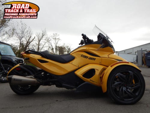 2013 Can-Am Spyder® ST-S SE5 -- Yellow craigslist