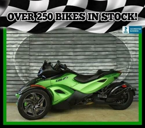 2013 Can-Am Spyder RSS Black for sale