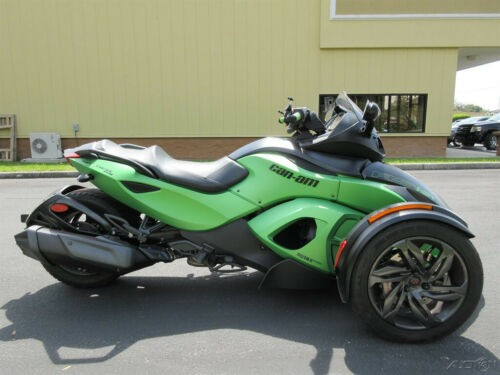 2013 Can-Am Spyder RS-S Green for sale craigslist