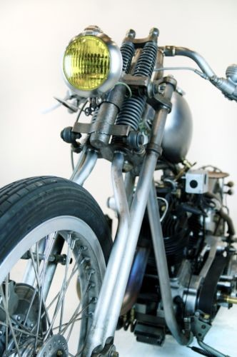 2013 Custom Built Motorcycles Knucklehead Raw metal for sale