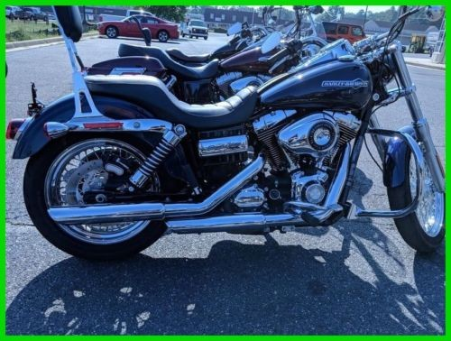 2013 Harley-Davidson Dyna FXDC  Super Glide® Custom BIG BLUE PEARL for sale craigslist