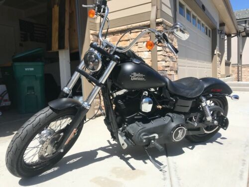 2013 Harley-Davidson Dyna Denim black ( flat black) for sale craigslist
