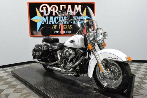 2013 Harley-Davidson FLSTC - Heritage Softail Classic -- White for sale