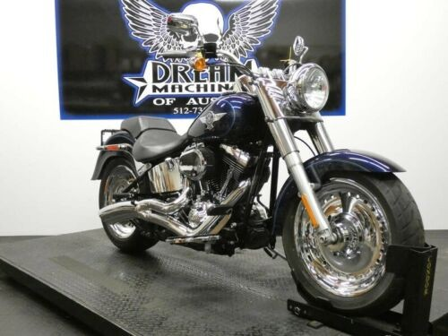 2013 Harley-Davidson FLSTF - Softail Fat Boy -- Blue for sale craigslist