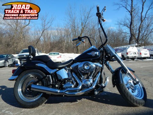 2013 Harley-Davidson FLSTF - Softail® Fat Boy® -- Black for sale