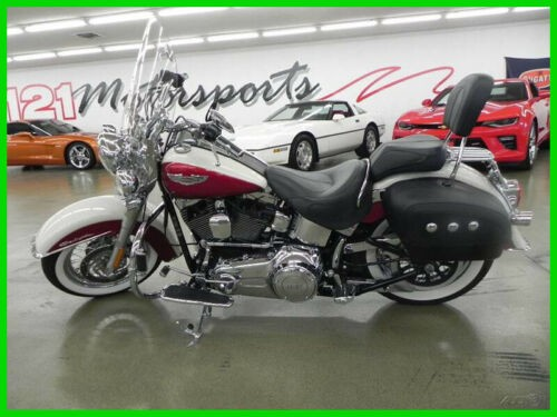 2013 Harley-Davidson Softail Deluxe BIRCH WHITE for sale craigslist