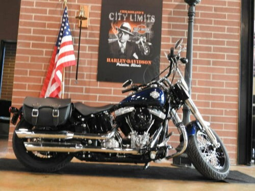 2013 Harley-Davidson Softail SLIM FLS Blue for sale