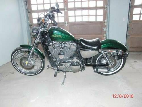 2013 Harley-Davidson Sportster Green for sale craigslist