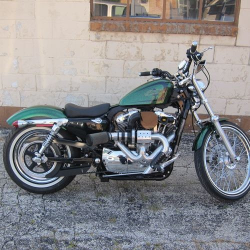 2013 Harley-Davidson Sportster Green for sale
