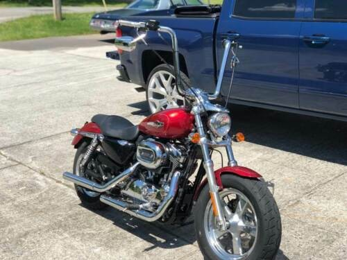 2013 Harley-Davidson Sportster Red for sale