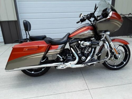 2013 Harley-Davidson Touring Atomic orange/ grey with pin stripes for sale