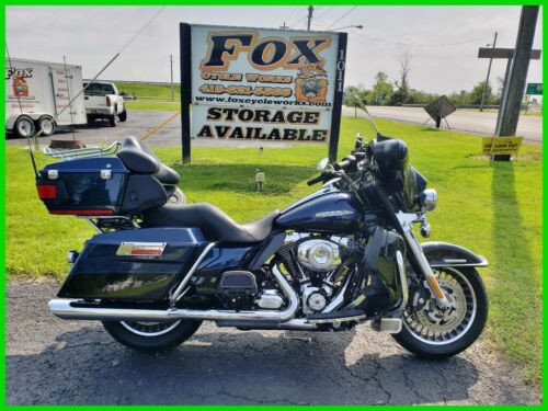 2013 Harley-Davidson Touring FLHTK Electra Glide Ultra Limited - Two-Tone Opt. Big Blue Pearl / Vivid Black for sale