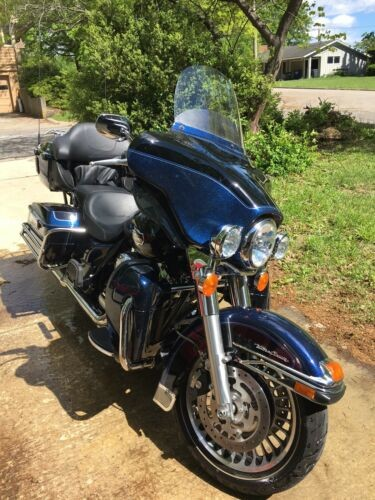 2013 Harley-Davidson Touring Blue for sale craigslist